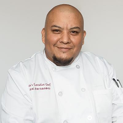 Fidel Hernandez - Executive Chef of Yuka's Latin Fusion Restaurant - Photo by Anika Fatouros