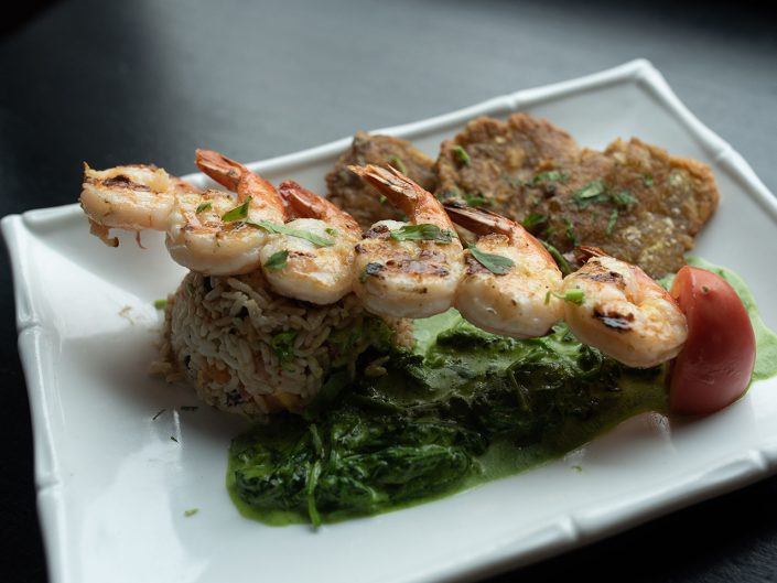 Yukas Latin Fusion - Menu -Camaronesala Parrilla - Westchester NY Restaurant - Photo by Anika Fatouros