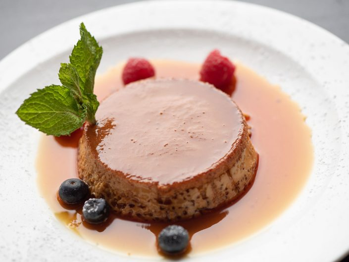Yukas Latin Fusion - Menu -CaramelFlan - Restaurant NY - Photo by Anika Fatouros