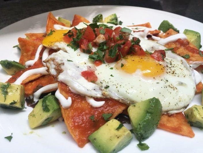 Yukas Latin Fusion - Menu - Chilaquiles - Rojos - Restaurant NY