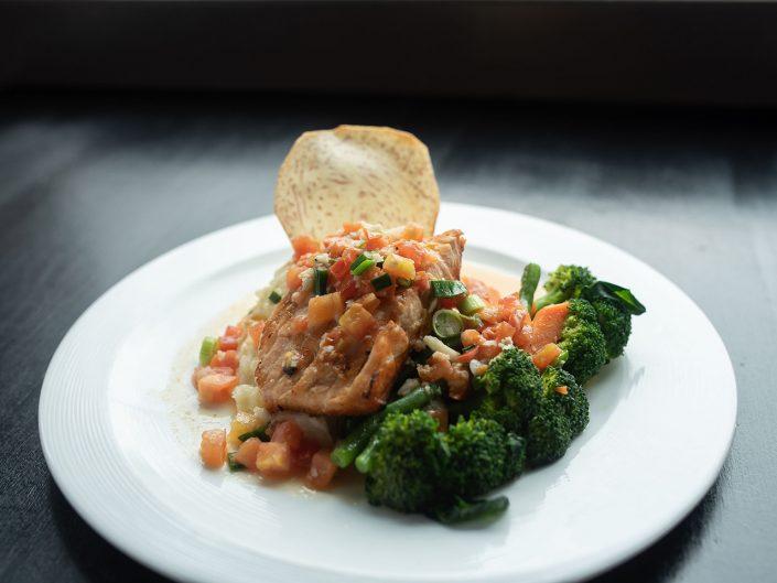Yukas Latin Fusion - Menu-Salmon A Las Yukas - Restaurant NY - Photo by Anika Fatouros