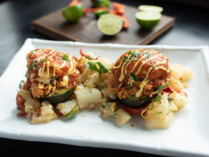 Yukas Latin Fusion - Menu-Yukas Style Eggs Benedict - Restaurant Brunch NY - Photo by Anika Fatouros