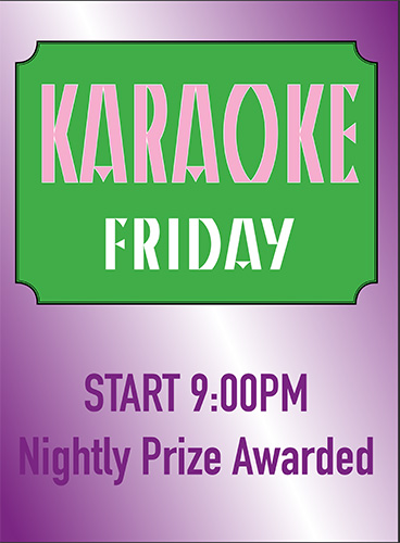 Yukas Latin Fusion - Karoke Friday