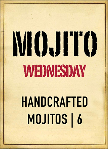 Yukas Latin Fusion - Mojito Wednesday 2